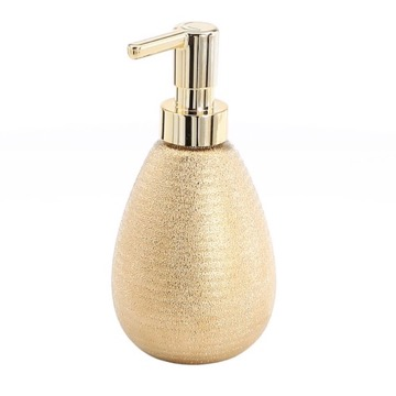 Gold Soap Dispenser Made From Pottery