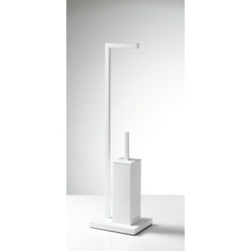 Bathroom Butler, Contemporary, White, Brass, Gedy Astro, Gedy AS32-02