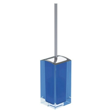 Light Blue Free Standing Toilet Brush