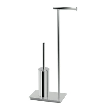 Bathroom Butler, Contemporary, Chrome, Brass,Stainless Steel, Gedy Bermuda, Gedy D032-13