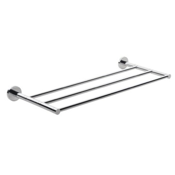 Bathroom Shelf Chrome Wall Mounted Towel Shelf FE44-13 Gedy FE44-13