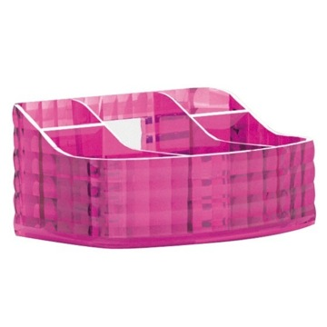 Make-up Tray Made From Thermoplastic Resin With Pink Finish