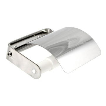 Toilet Paper Holder, Contemporary, Chrome, Steel, Gedy Ascot, Gedy 2725-13