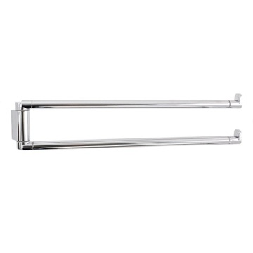 Swivel Towel Bar 14 Inch Polished Chrome Double Swivel Towel Bar 4323-13 Gedy 4323-13