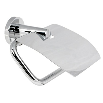 Toilet Paper Holder, Contemporary, Chrome, Brass, Gedy Demetra, Gedy 5125-13