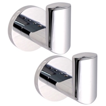 Bathroom Hook Pair Of Polished Chrome Hook(s) 5127-13 Gedy 5127-13