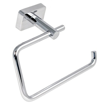 Toilet Paper Holder, Contemporary, Chrome, Stainless Steel, Gedy Minnesota, Gedy 6624-13