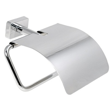 Toilet Paper Holder, Contemporary, Chrome, Cromall,Stainless Steel, Gedy Minnesota, Gedy 6625-13