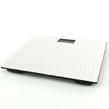 Square Pearl White Electronic Bathroom Scale