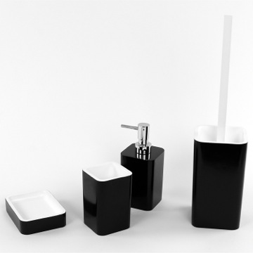 Black Accessory Set of Thermoplastic Resins
