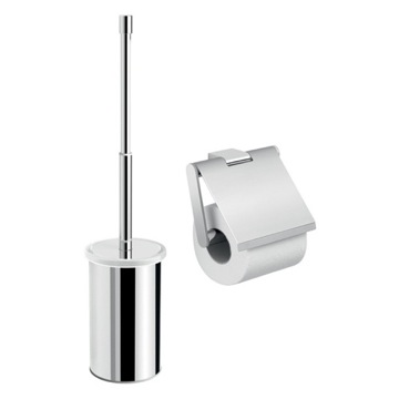 Two Piece Bathroom Accessory Set