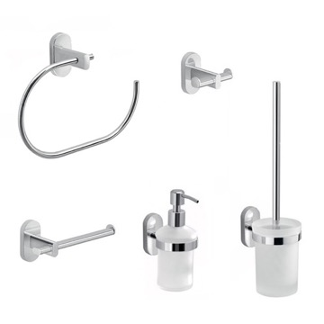 5 Piece Combination Hardware And Accessory Set