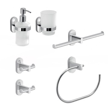 6 Piece Combination Hardware And Accessory Set