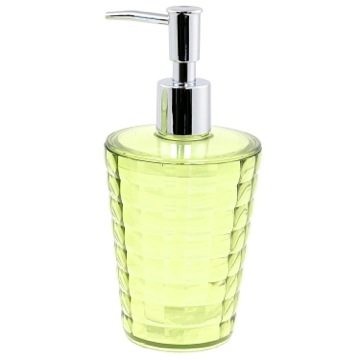 Round Avocado Green Soap Dispenser