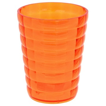 Round Orange Toothbrush Holder