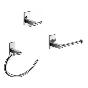 Chrome 3 Piece Accessory Set