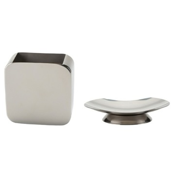 Two Piece Chrome Accessory Set