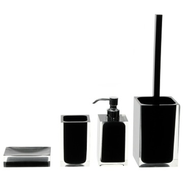 Accessory Set of Black Thermoplastic Resins