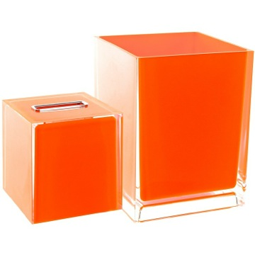 2 Piece Accessory Set In Orange