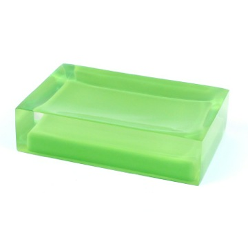 Decorative Green Soap Holder