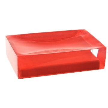 Decorative Red Soap Holder