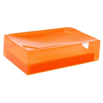 Decorative Orange Soap Holder