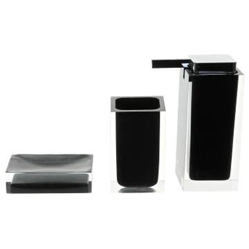 Black 3 Pc. Accessory Set Made With Thermoplastic Resins
