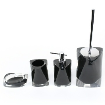 Bathroom Accessory Set Twist Accessory Set of Thermoplastic Resins TW100 Gedy TW100