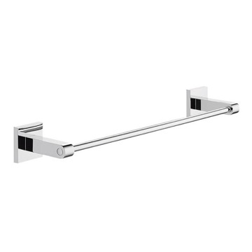 Single Bathroom Chrome Towel Bar