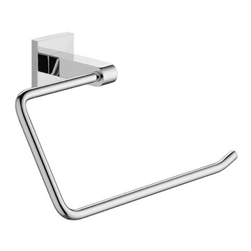 Wall Mounted Chrome Towel Ring