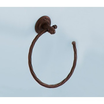 Vintage Moka Towel Ring