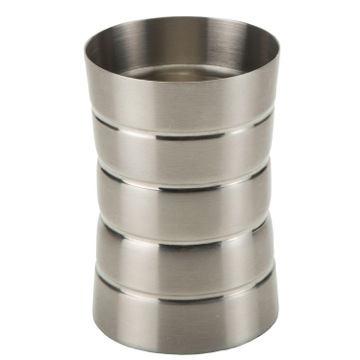 Brushed Nickel Free Standing Toothbrush Holder