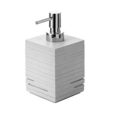 Modern Grey Countertop Soap Dispenser