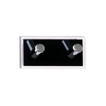 Bathroom Hook Black Double Hook made of Thermoplastic Resins RA26-14 Gedy RA26-14