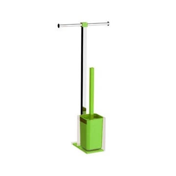 Steel and Resin Bathroom Butler in Green