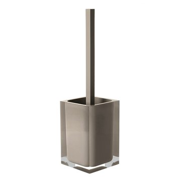 Decorative Square Turtledove Toilet Brush Holder