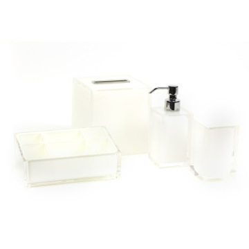 White Thermoplastic Resins Accessory Set