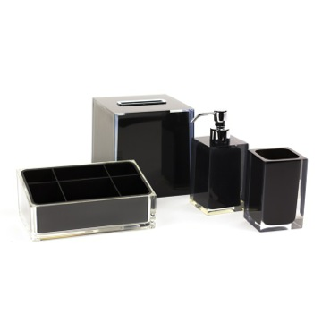 Bathroom Accessory Set in Thermoplastic Resins