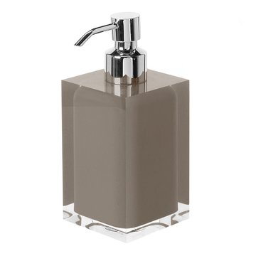 Square Turtledove Countertop Soap Dispenser