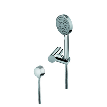 Handheld Showerhead, Contemporary, Chrome, Brass,Stainless Steel,ABS, Gedy Superinox, Gedy SUP1082