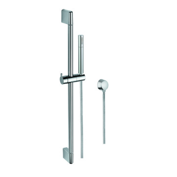 Hand Shower, Sliding Rail and Water Connection