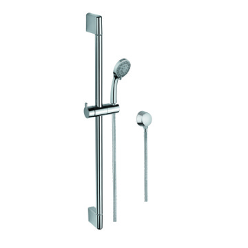 Handheld Showerhead, Contemporary, Chrome, Brass,Stainless Steel,ABS, Gedy Superinox, Gedy SUP1102