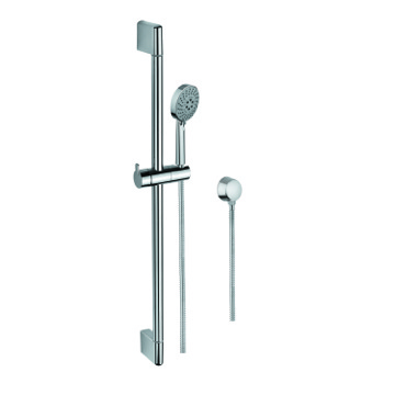 Handheld Showerhead, Contemporary, Chrome, Brass,Stainless Steel,ABS, Gedy Superinox, Gedy SUP1105