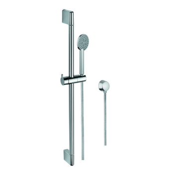 Handheld Showerhead, Contemporary, Chrome, Brass,Stainless Steel,ABS, Gedy Superinox, Gedy SUP1110