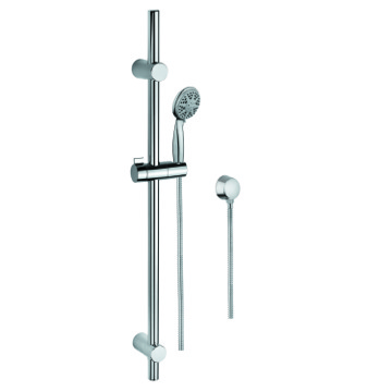Handheld Showerhead, Contemporary, Chrome, Brass,Stainless Steel,ABS, Gedy Superinox, Gedy SUP1111