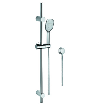 Handheld Showerhead, Contemporary, Chrome, Brass,Stainless Steel,ABS, Gedy Superinox, Gedy SUP1117