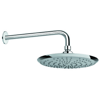 Shower Head, Contemporary, Chrome, ABS,Stainless Steel, Gedy Superinox, Gedy SUP1130