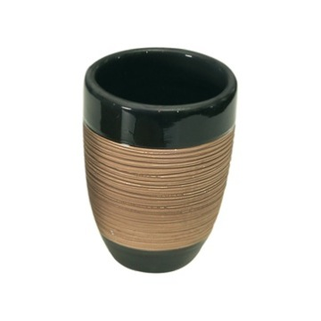 Round Moka Toothbrush Holder