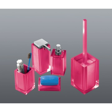 Rainbow Pink Accessory Set of Thermoplastic Resins