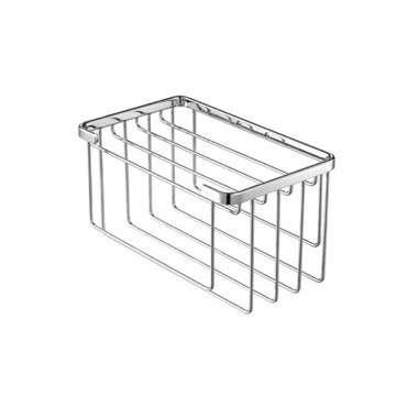 Chrome Towel Basket for Small Towels 174